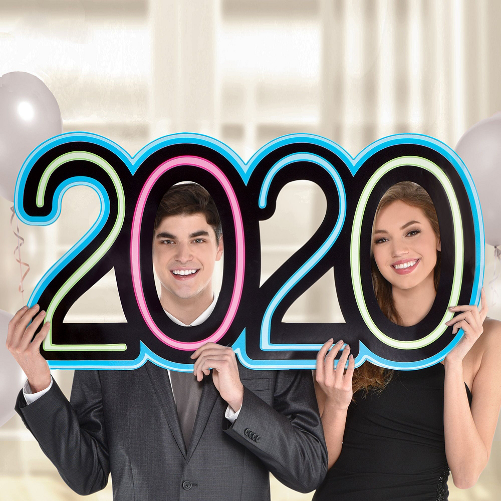 New Year's Glow Photo Booth Kit Image #3