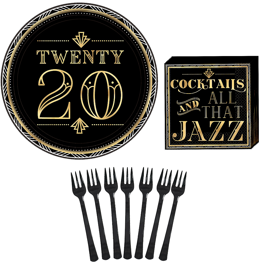 Roaring 20s New Year's Eve Appetizer Kit for 16 Guests Image #1