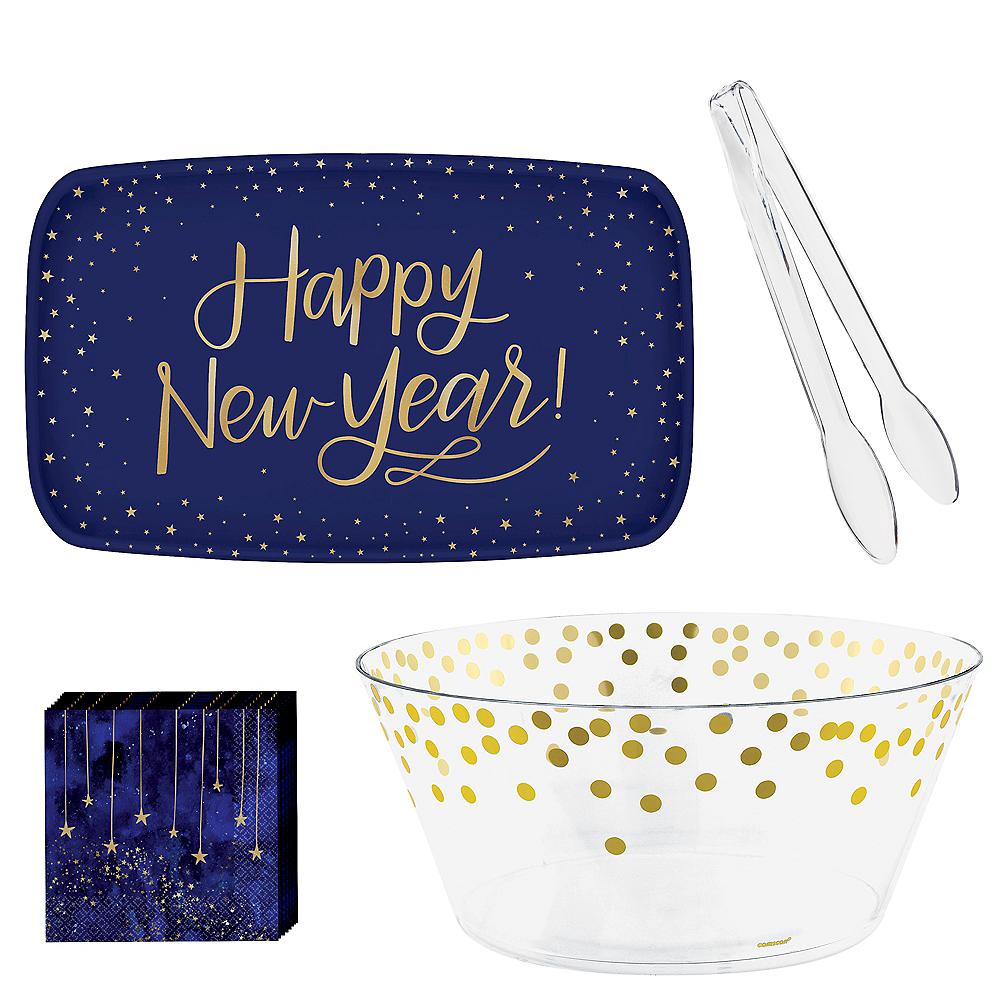 Midnight New Year's Eve Serveware Kit Image #1
