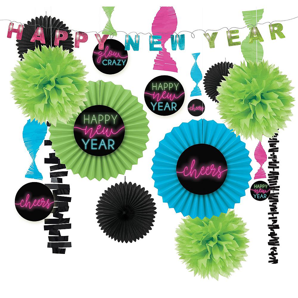 New Year's Glow Decorating Kit Image #1