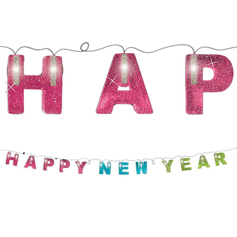 New Year's Glow Decorating Kit Image #4