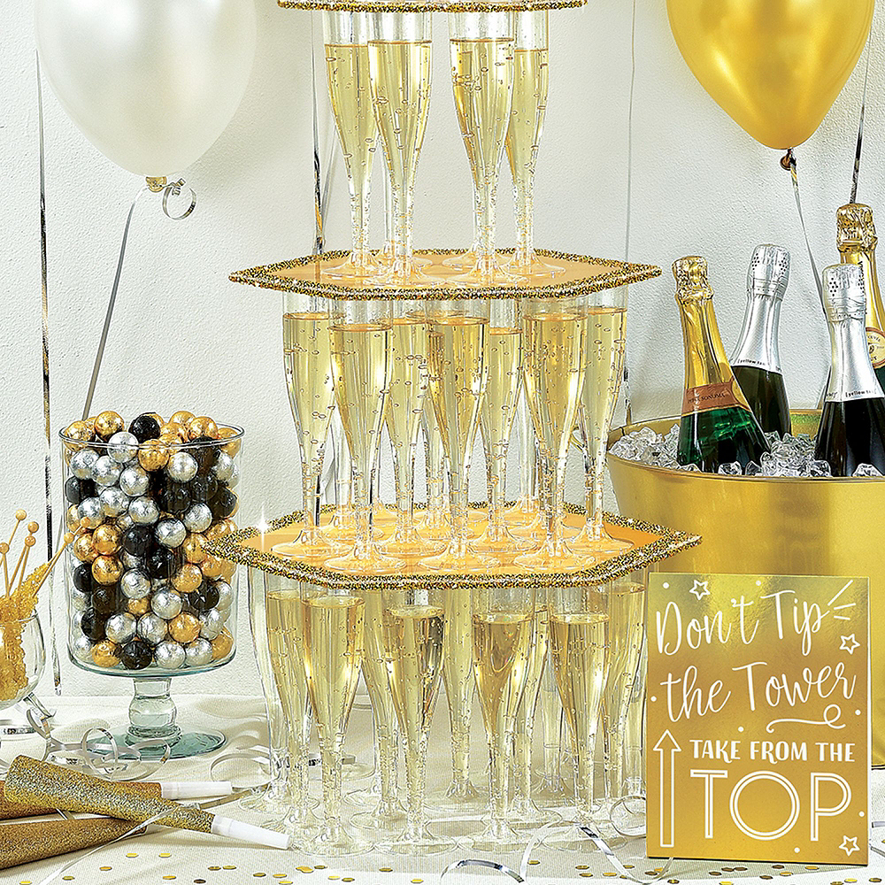 New Year's Eve Bubbly Bar Kit for 20 Guests Image #6