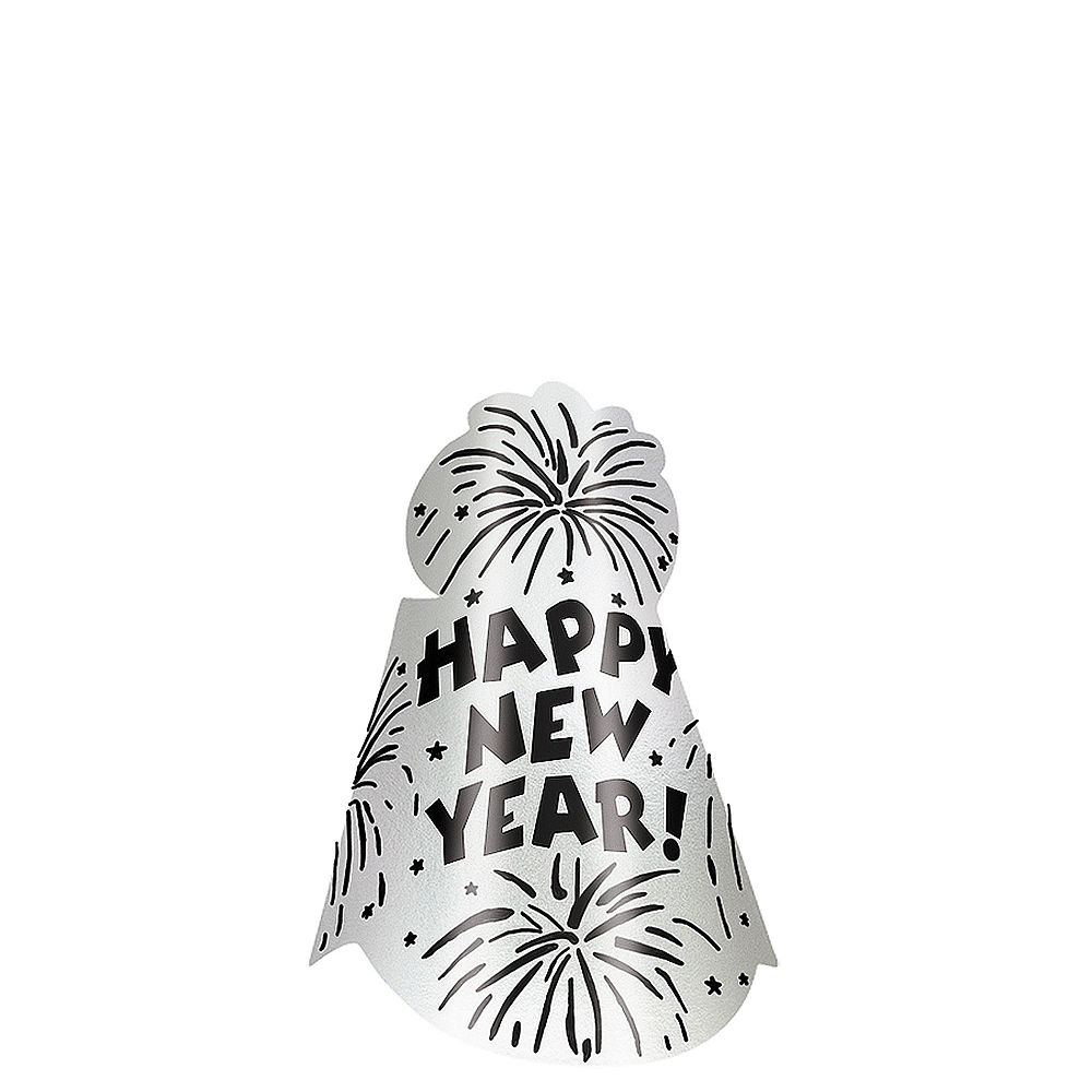 Gold & Silver New Year's Eve Party Kit for 16 Guests Image #2
