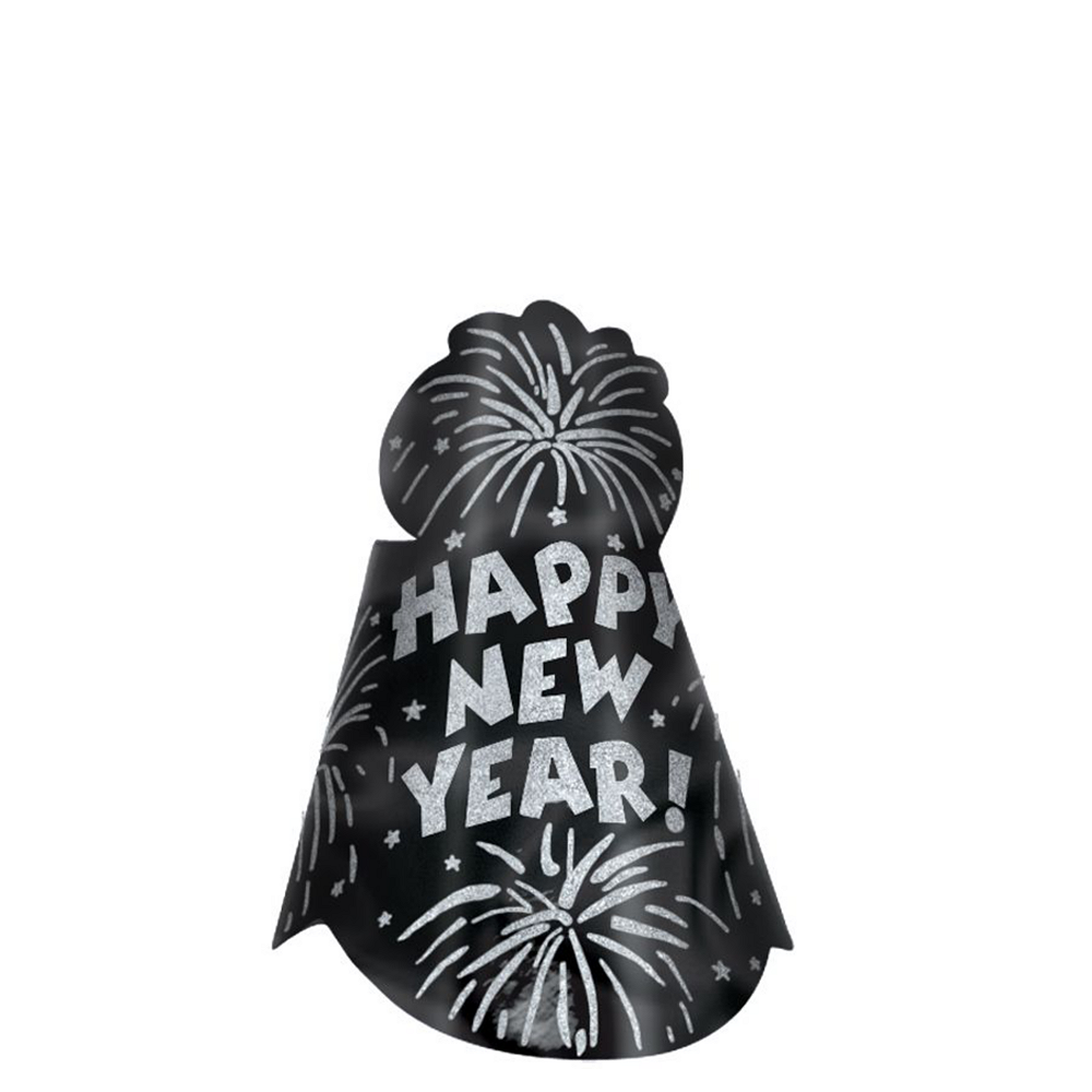 Gold & Silver New Year's Eve Party Kit for 16 Guests Image #3