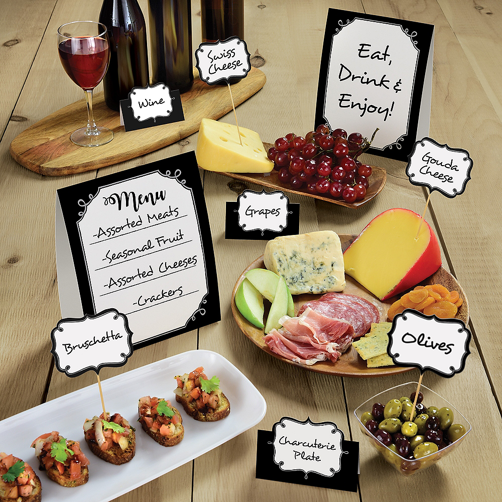 Foodie Buffet Table Decorating Kit 12pc Image #2