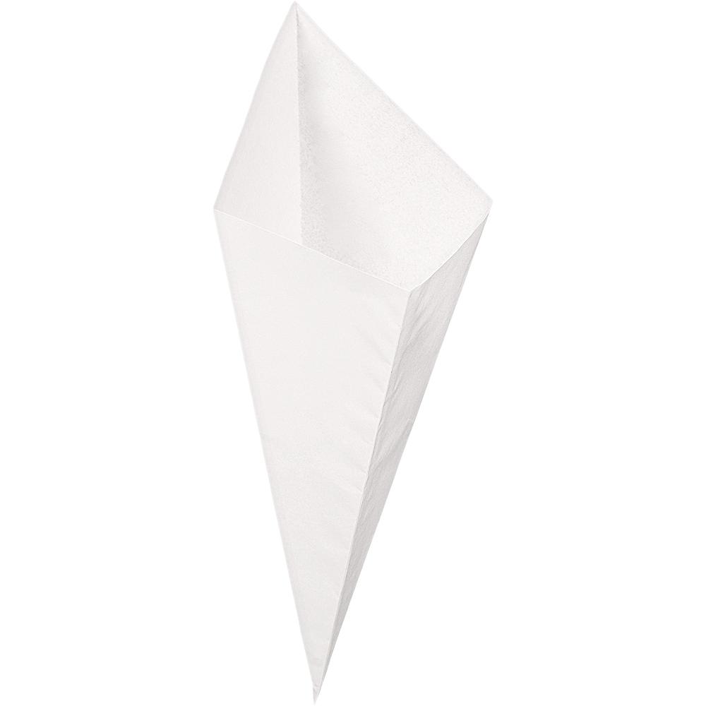 White Snack Cones 40ct Image #2