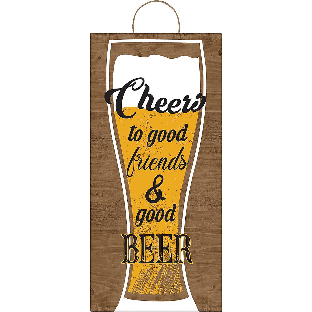 Good Friends & Good Beer Sign Image #1