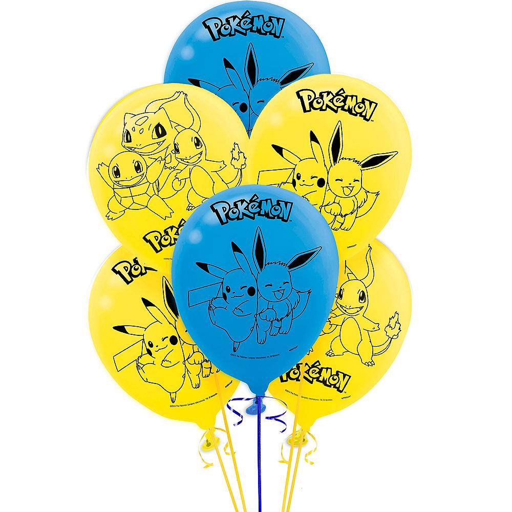 Classic Pokémon Balloons 6ct Image #1