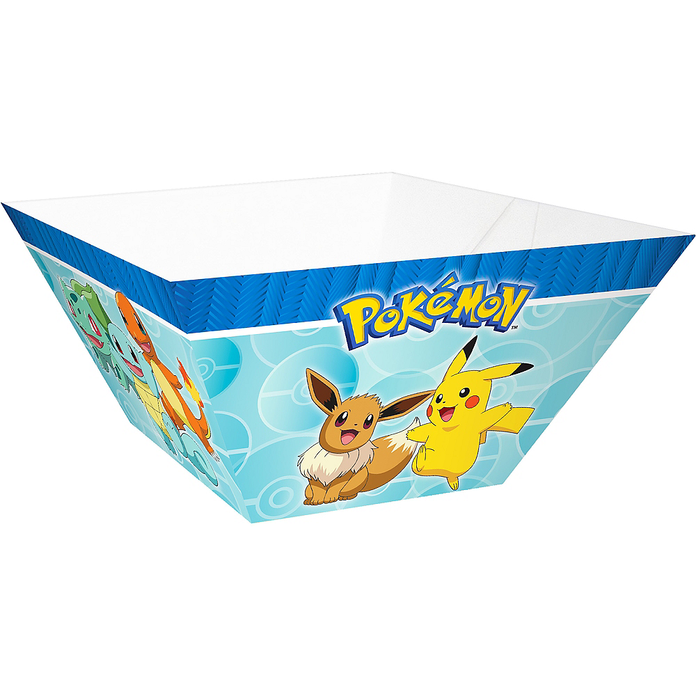 Nav Item for Classic Pokémon Paper Serving Bowls  3ct Image #1