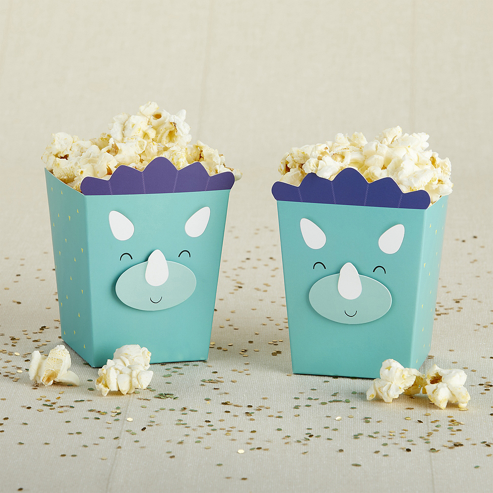 Dinosaur Popcorn Treat Boxes 24ct Image #1