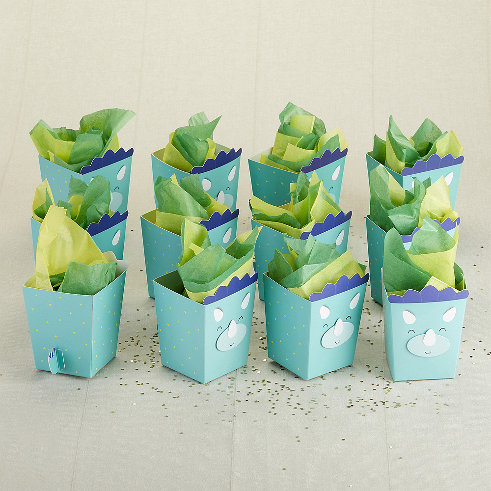 Dinosaur Popcorn Treat Boxes 24ct Image #3