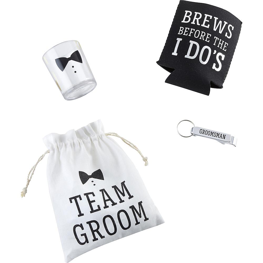Team Groom Gift Set 4pc Image #2