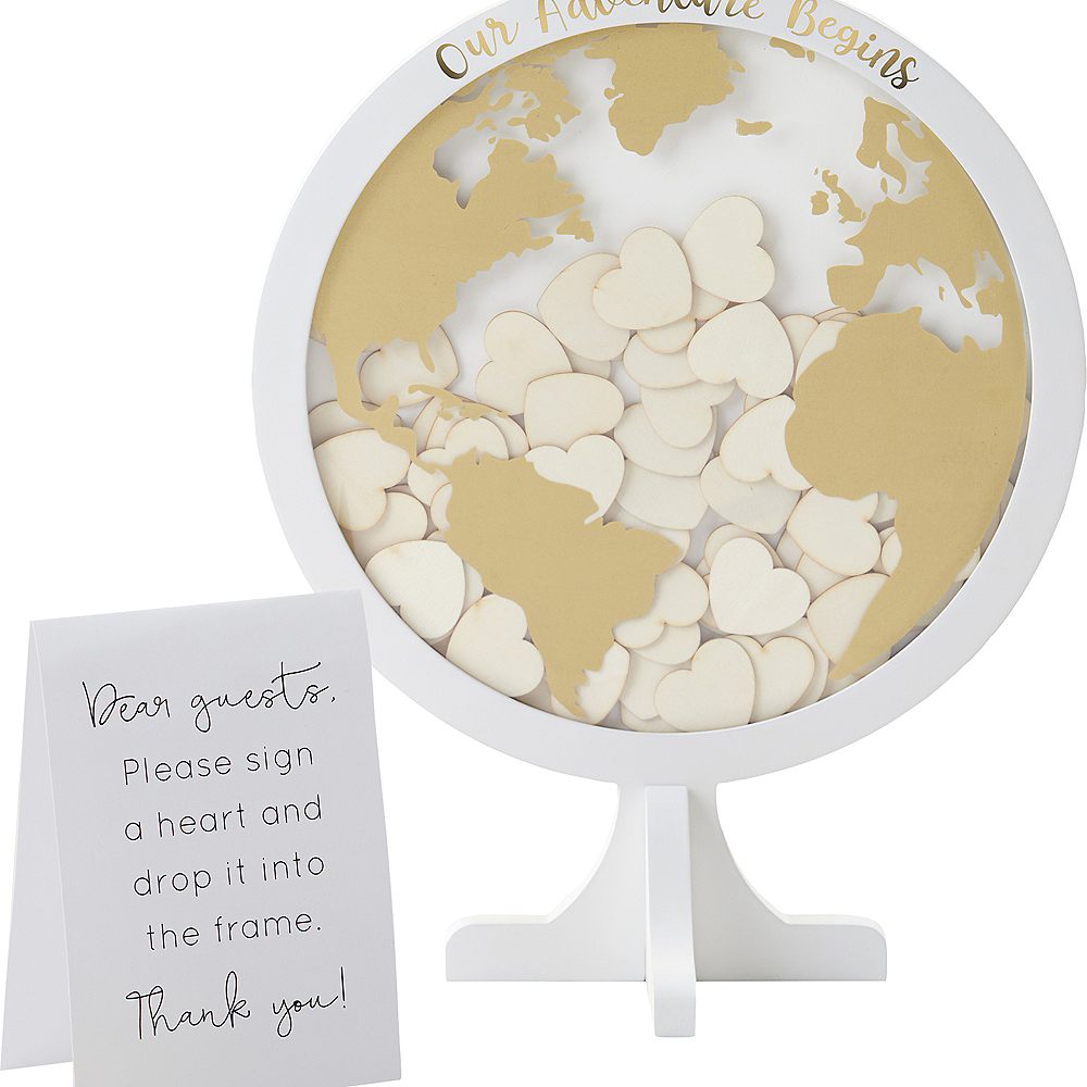 Globe Guest Book Frame 102pc Image #3