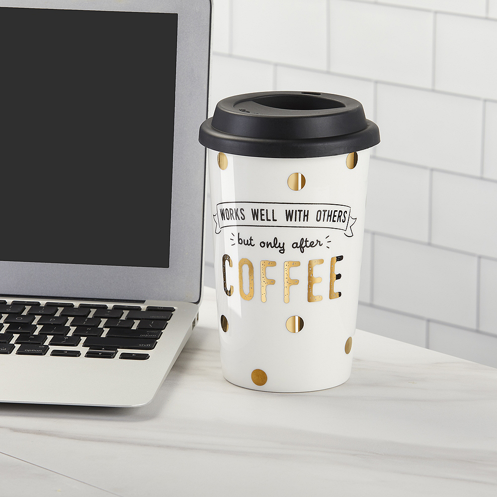 Works Well with Others Travel Mug Image #2