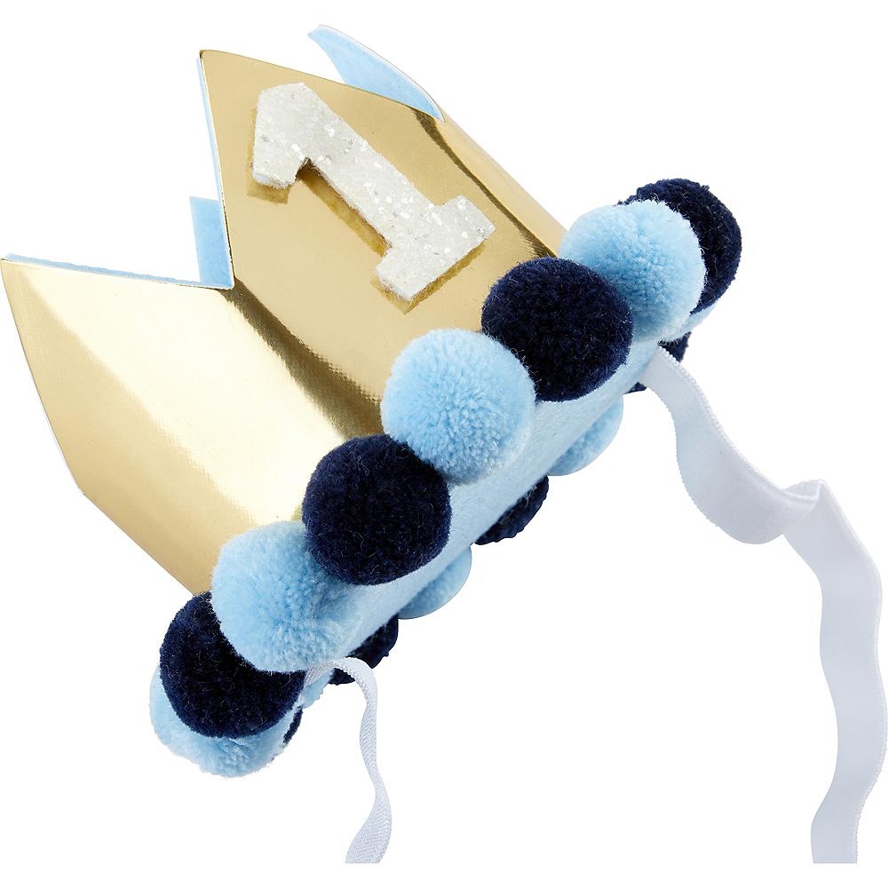 Blue & Gold 1st Birthday Smash Cake Kit Image #5