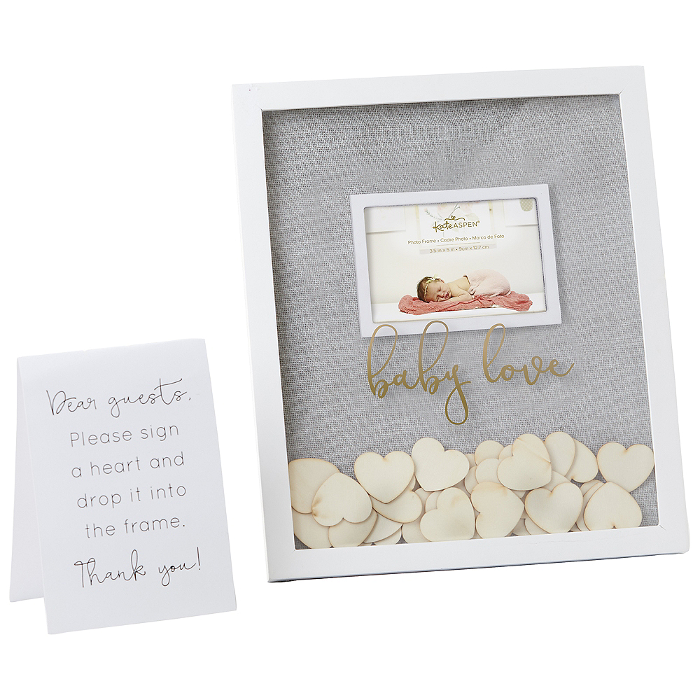 Baby Shower Guest Book Frame 32pc Image #2