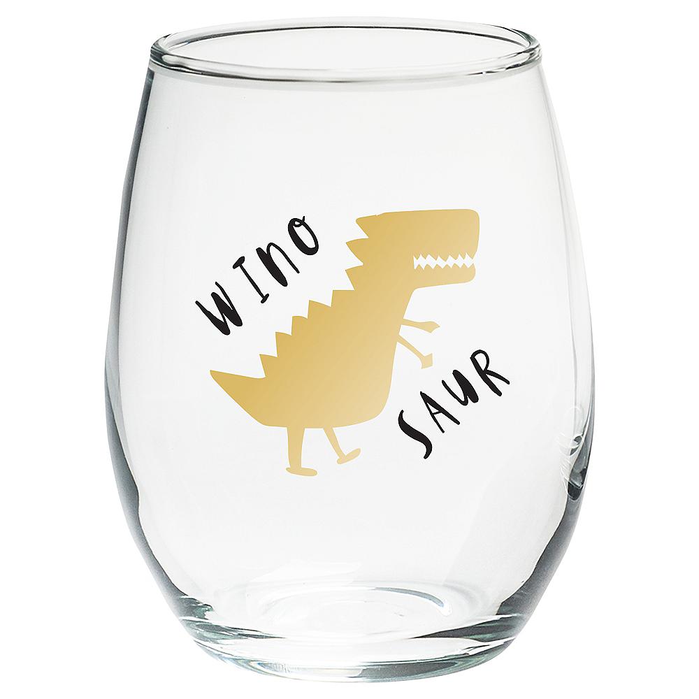 Winosaur Stemless Wine Glasses 4ct Image #2