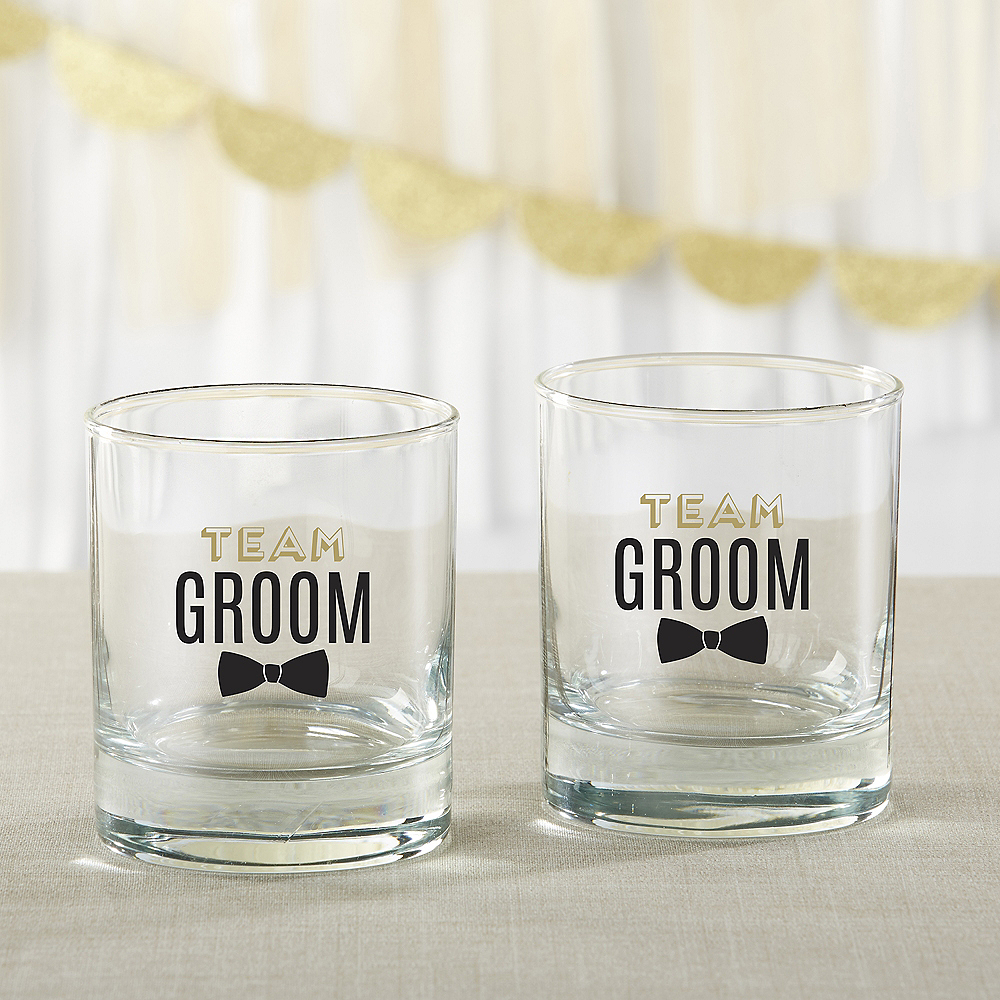 Team Groom Rocks Glasses 4ct Image #1