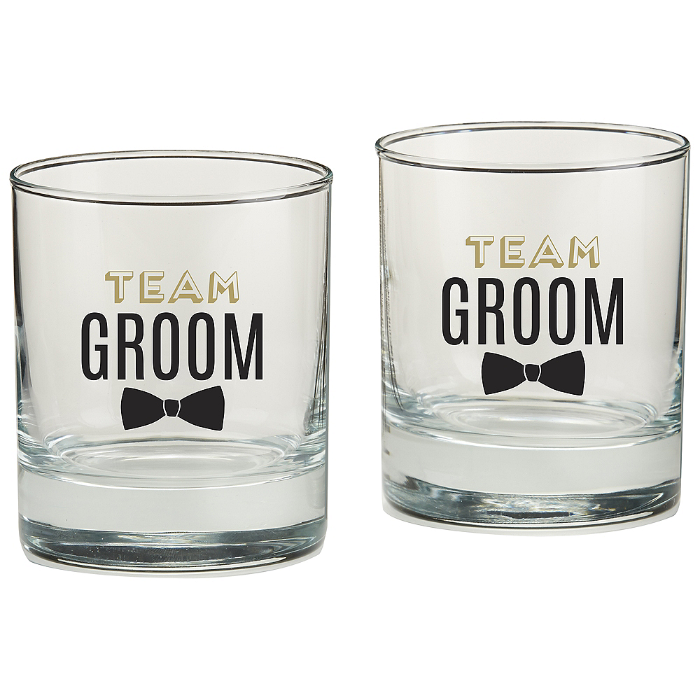 Team Groom Rocks Glasses 4ct Image #2