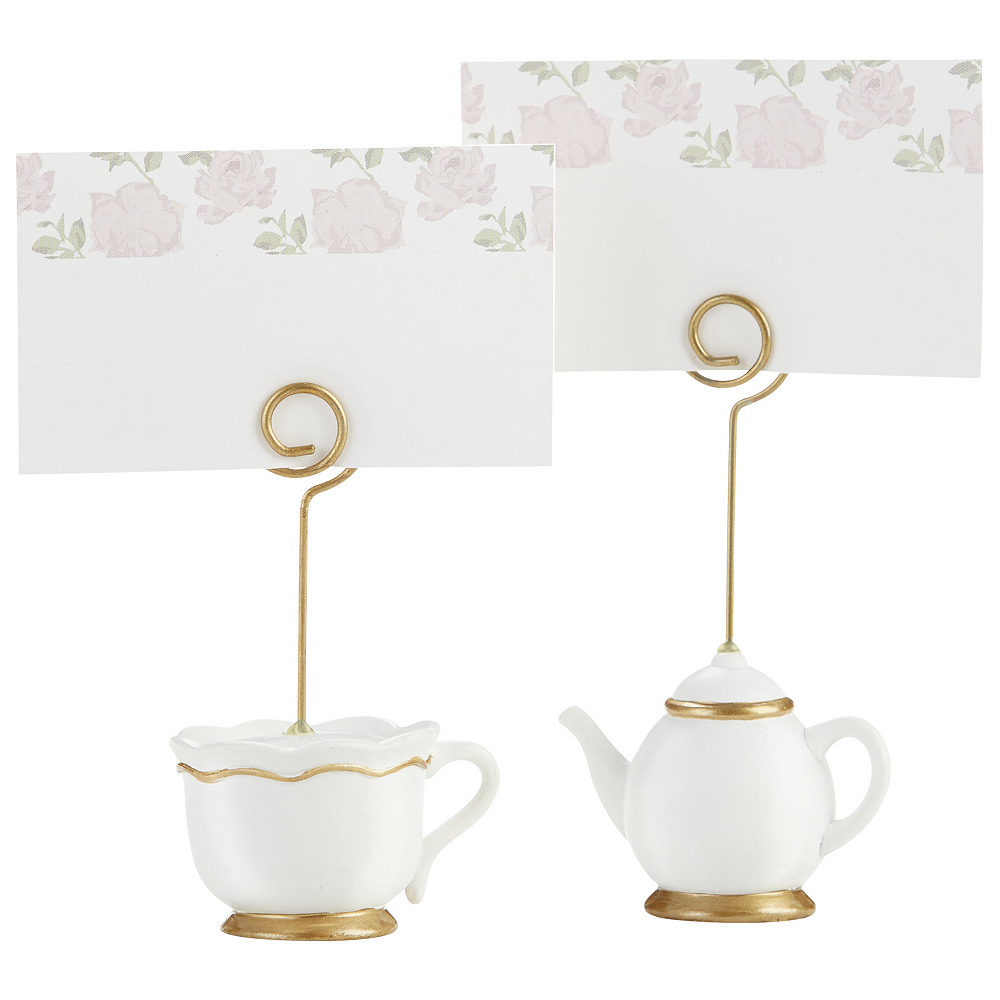 Nav Item for Tea Time Place Card Holders 12ct Image #1