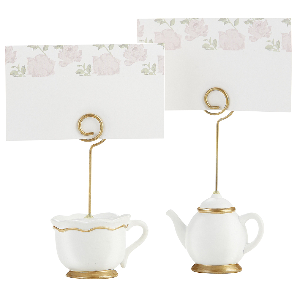 Tea Time Place Card Holders 12ct Image #2