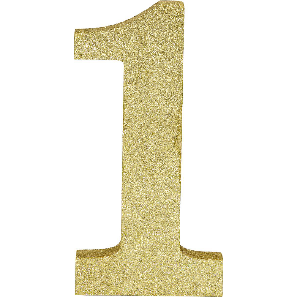 Ginger Ray Metallic Gold 21st Birthday Decorating Kit Image #5