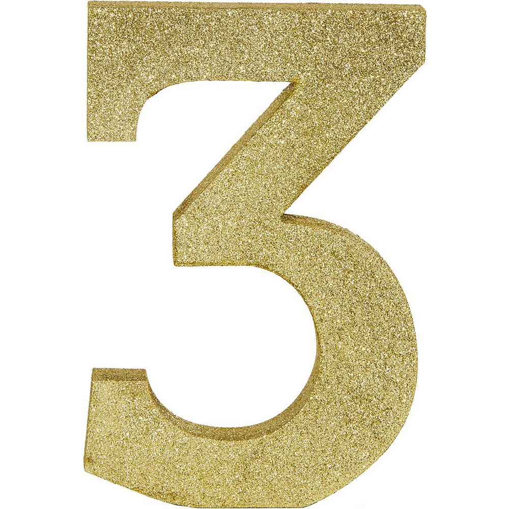 Ginger Ray Metallic Gold 30th Birthday Decorating Kit Image #6
