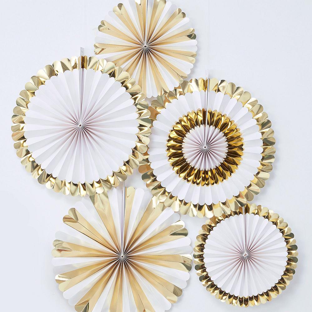 Ginger Ray Metallic Gold 30th Birthday Decorating Kit Image #7