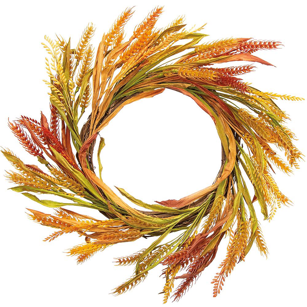 Autumn Wheat Wreath Image #1