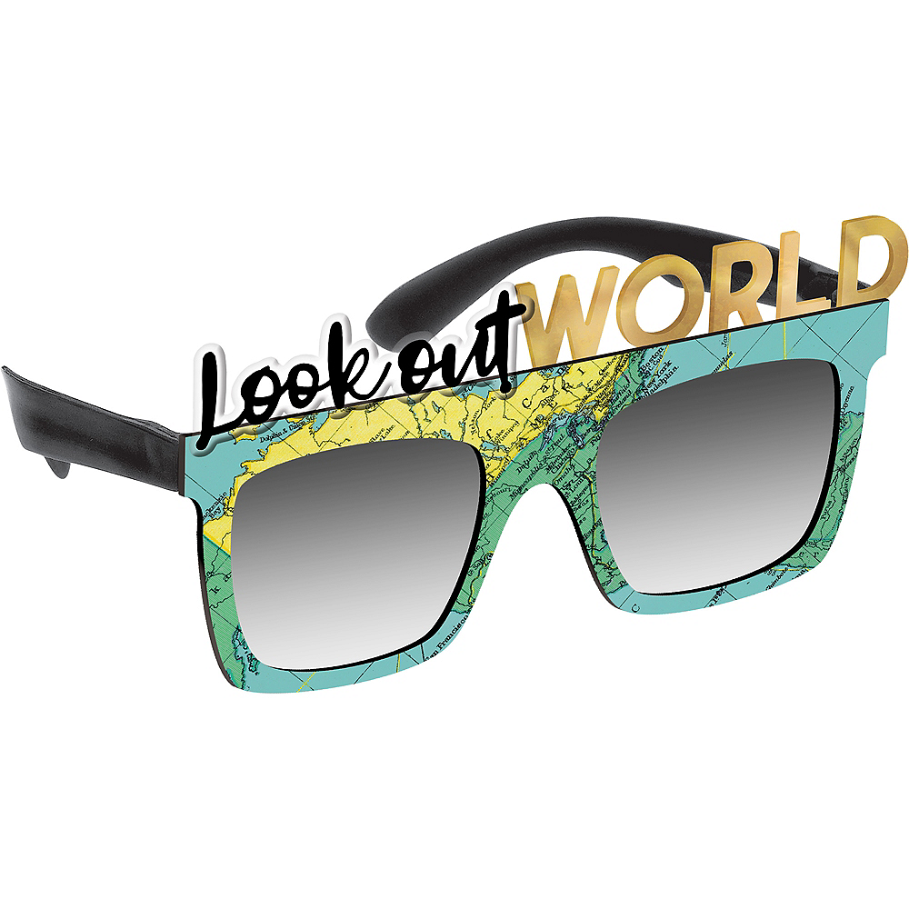 Look Out World Graduation Sunglasses Image #1