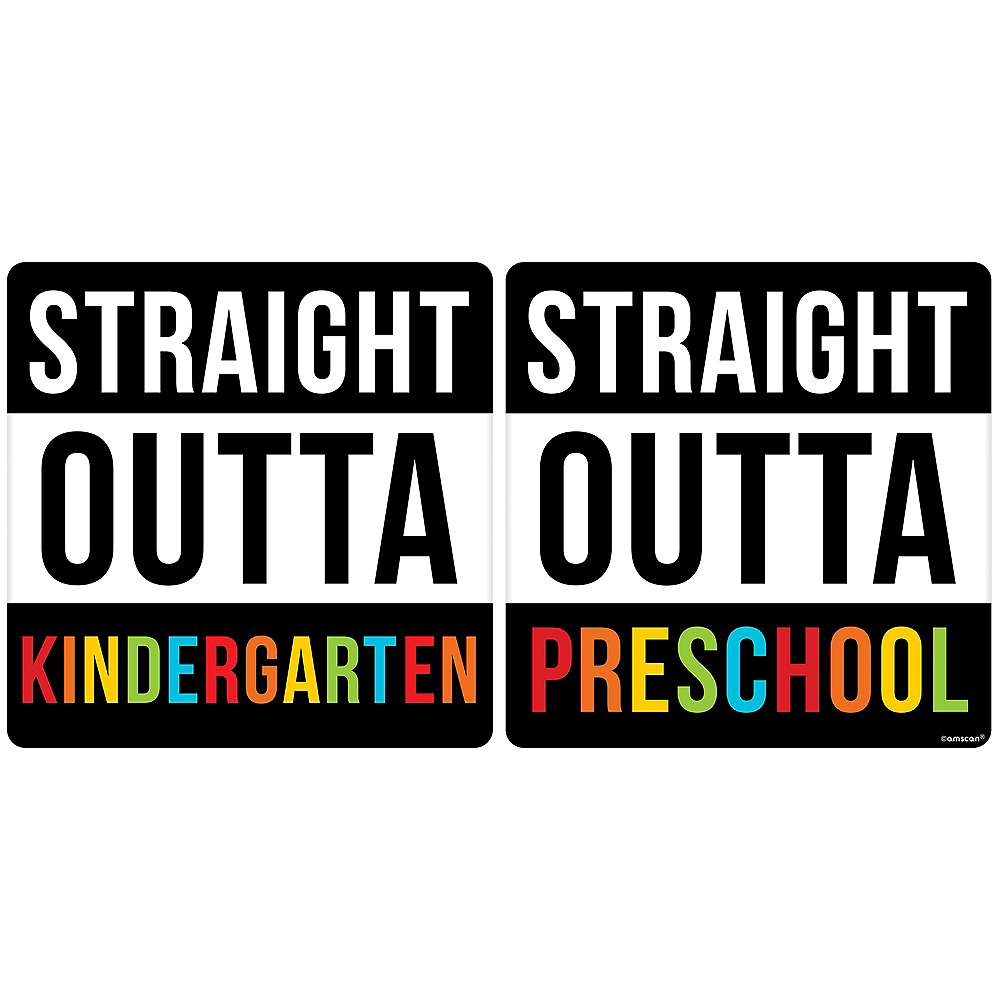 Preschool/Kindergarten Graduation Photo Prop Image #1