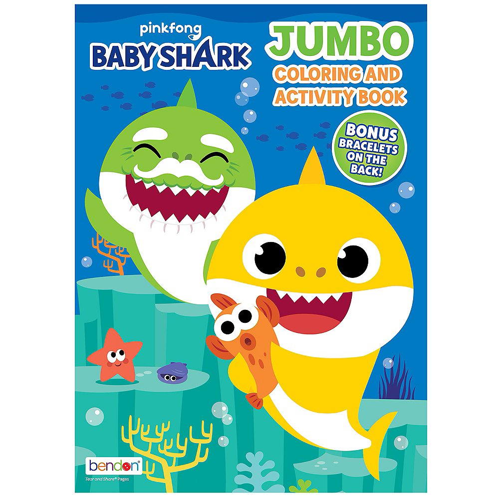Nav Item for Baby Shark Jumbo Coloring & Activity Book Image #1