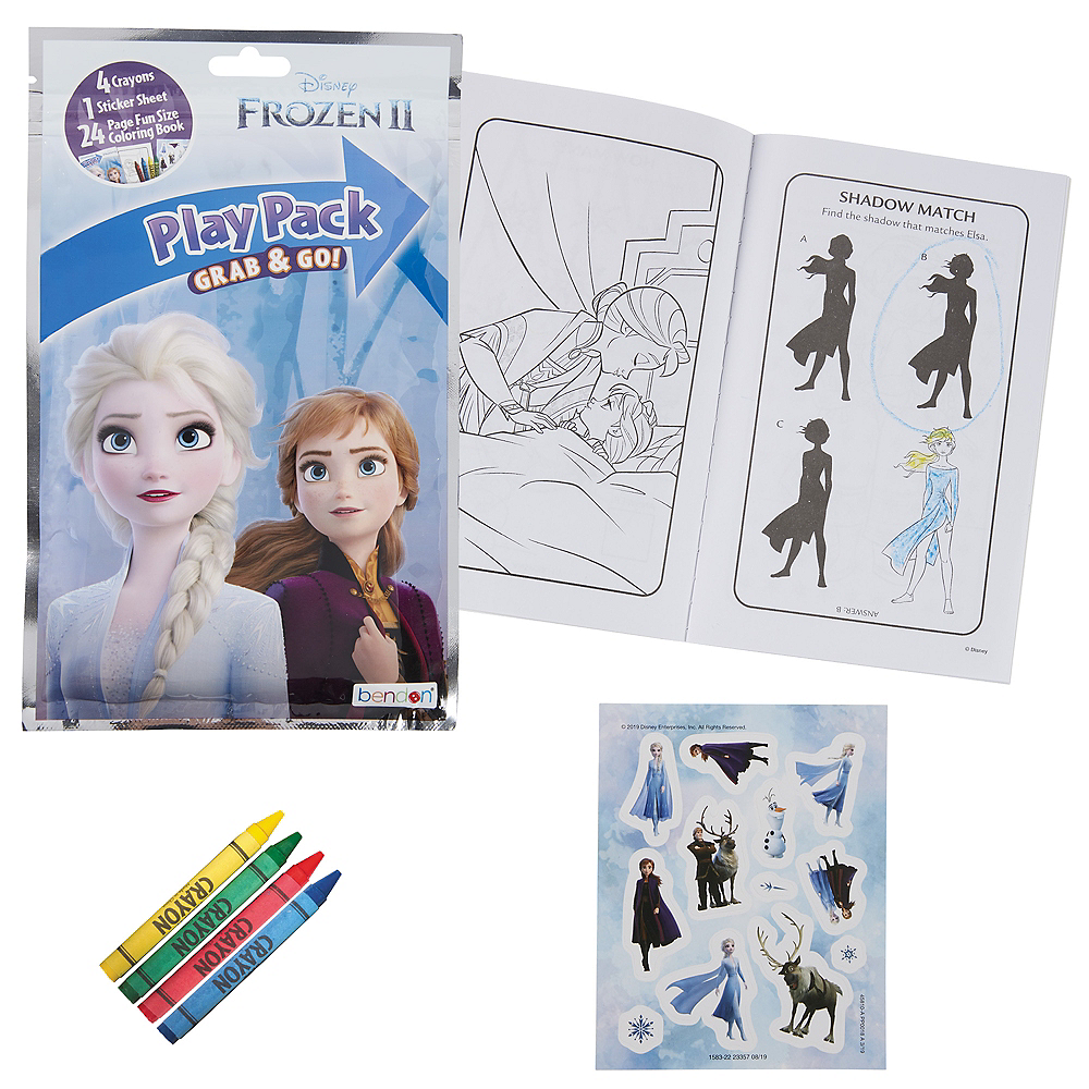 Nav Item for Frozen 2 Activity Kit Image #1