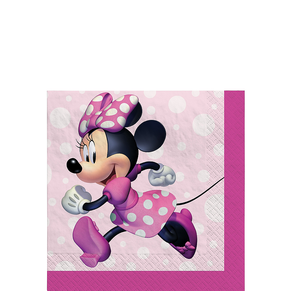 Minnie Mouse Forever Beverage Napkins 16ct Image #1