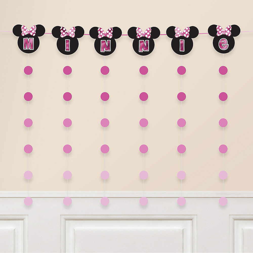 Minnie Mouse Forever String Garland Kit 7pc Image #1