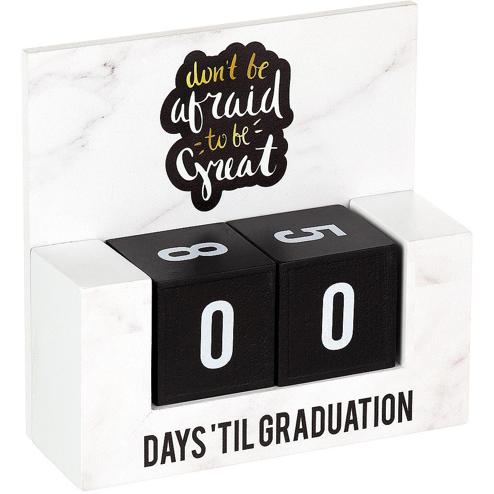 Graduation Countdown Blocks Table Decoration Image #2