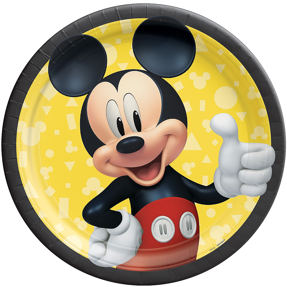 Mickey Mouse Forever Lunch Plates 8ct Image #1