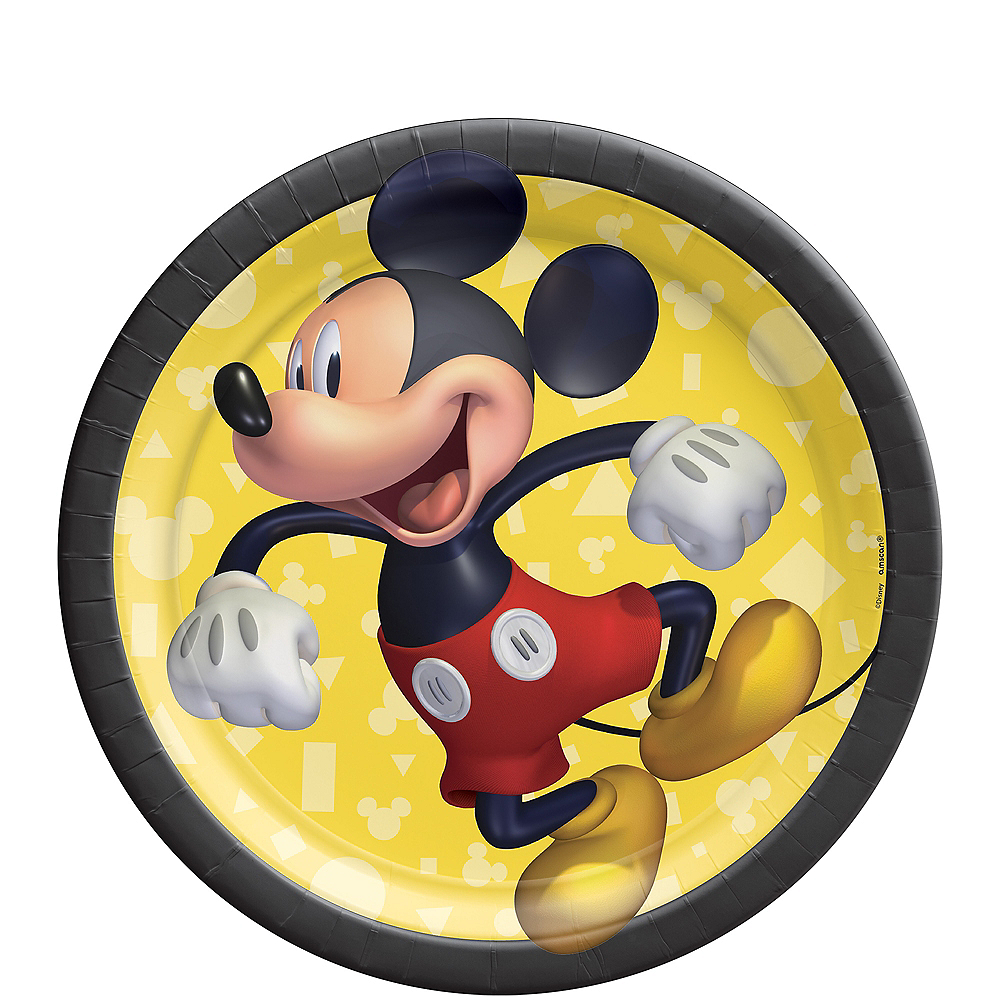 Nav Item for Mickey Mouse Forever Dessert Plates 8ct Image #1
