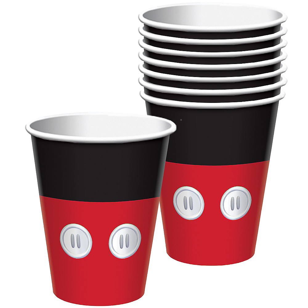 Mickey Mouse Forever Cups 8ct Image #1