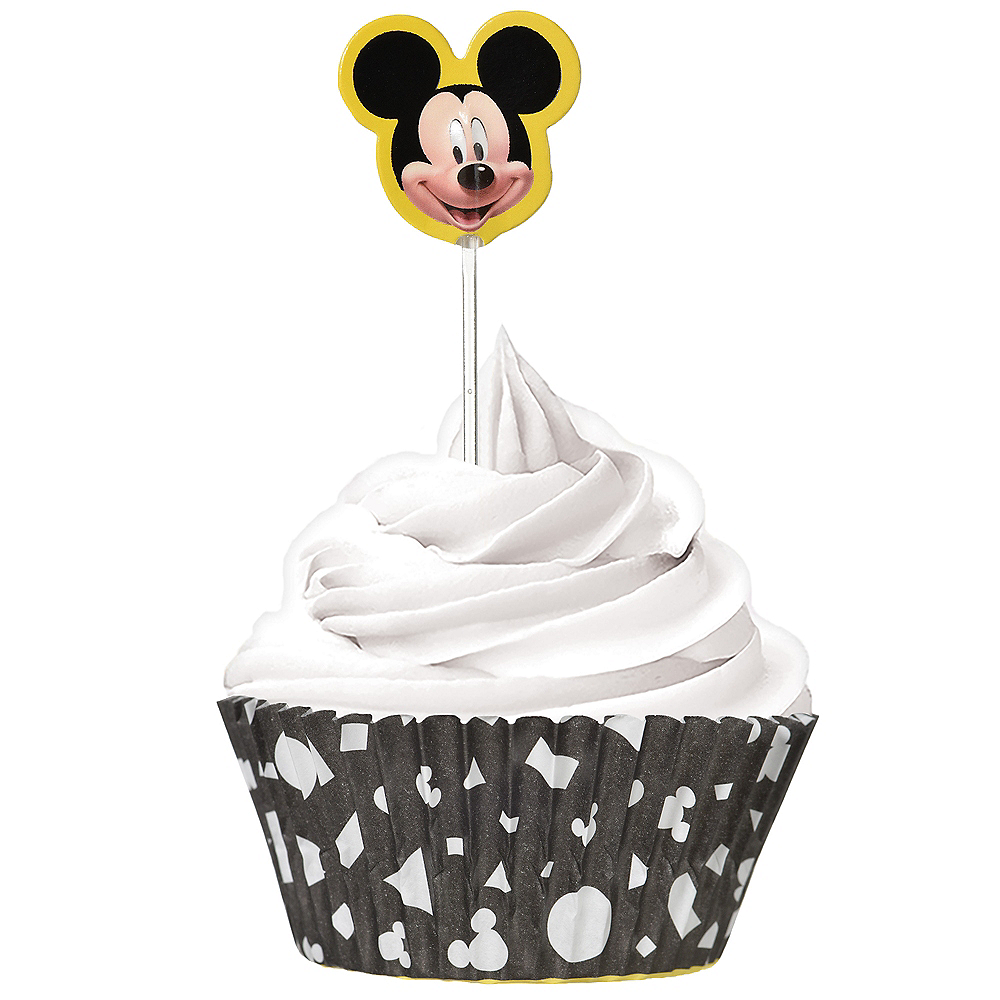 Mickey Mouse Forever Cupcake Decorating Kit for 24 Image #1