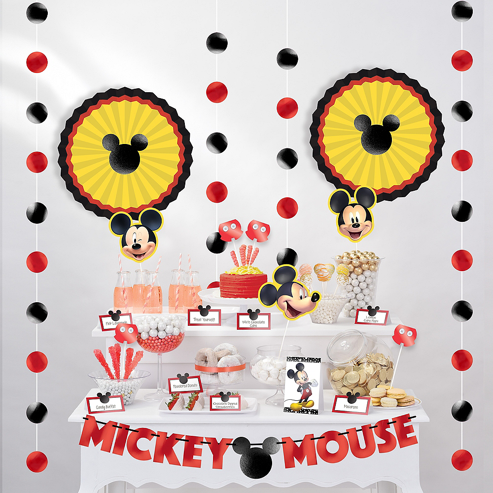Mickey Mouse Forever Buffet Decorating Kit 23pc Image #1