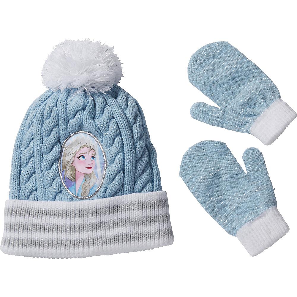 Child Elsa Beanie & Mittens - Frozen 2 Image #1