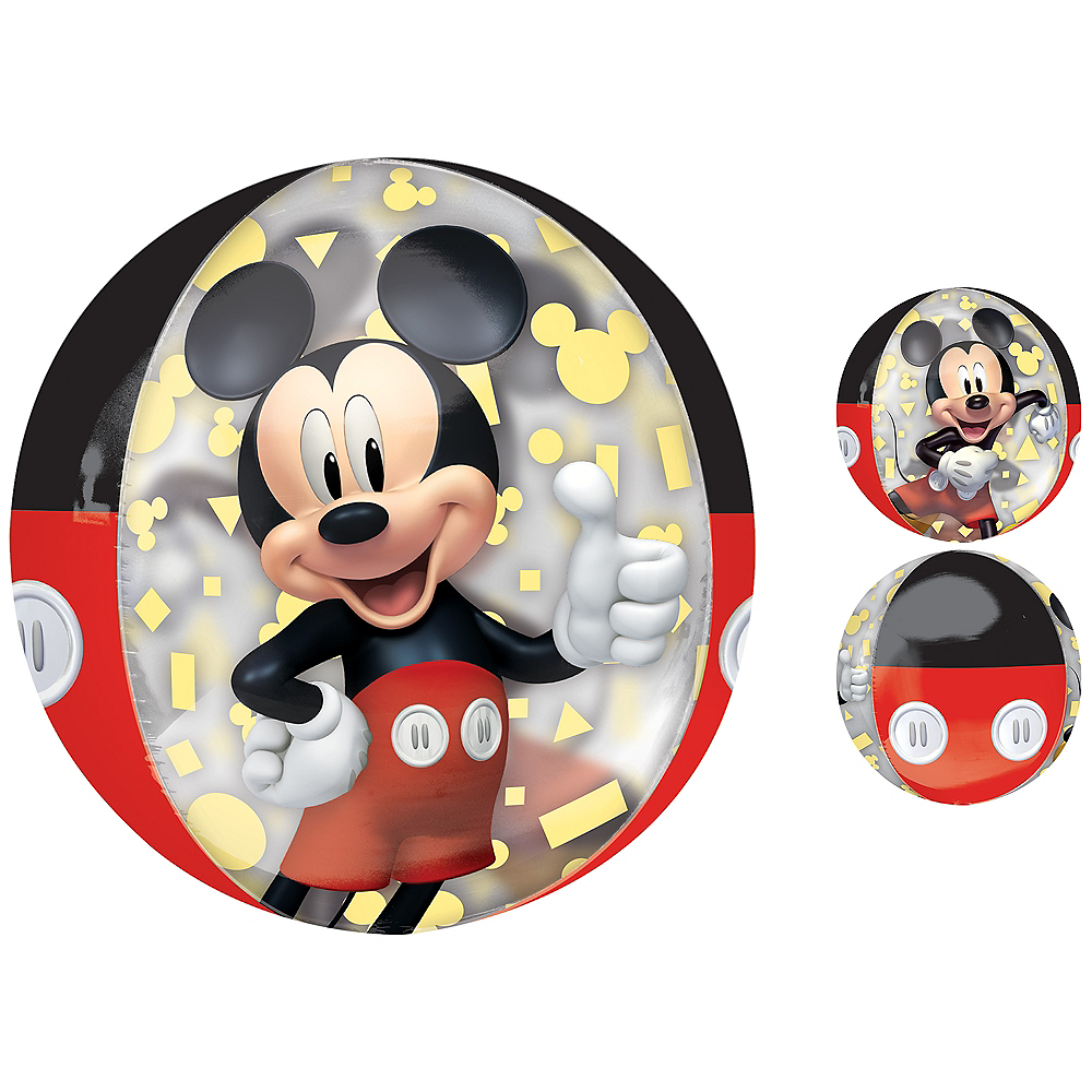Mickey Mouse Forever Balloon - See Thru Orbz Image #1