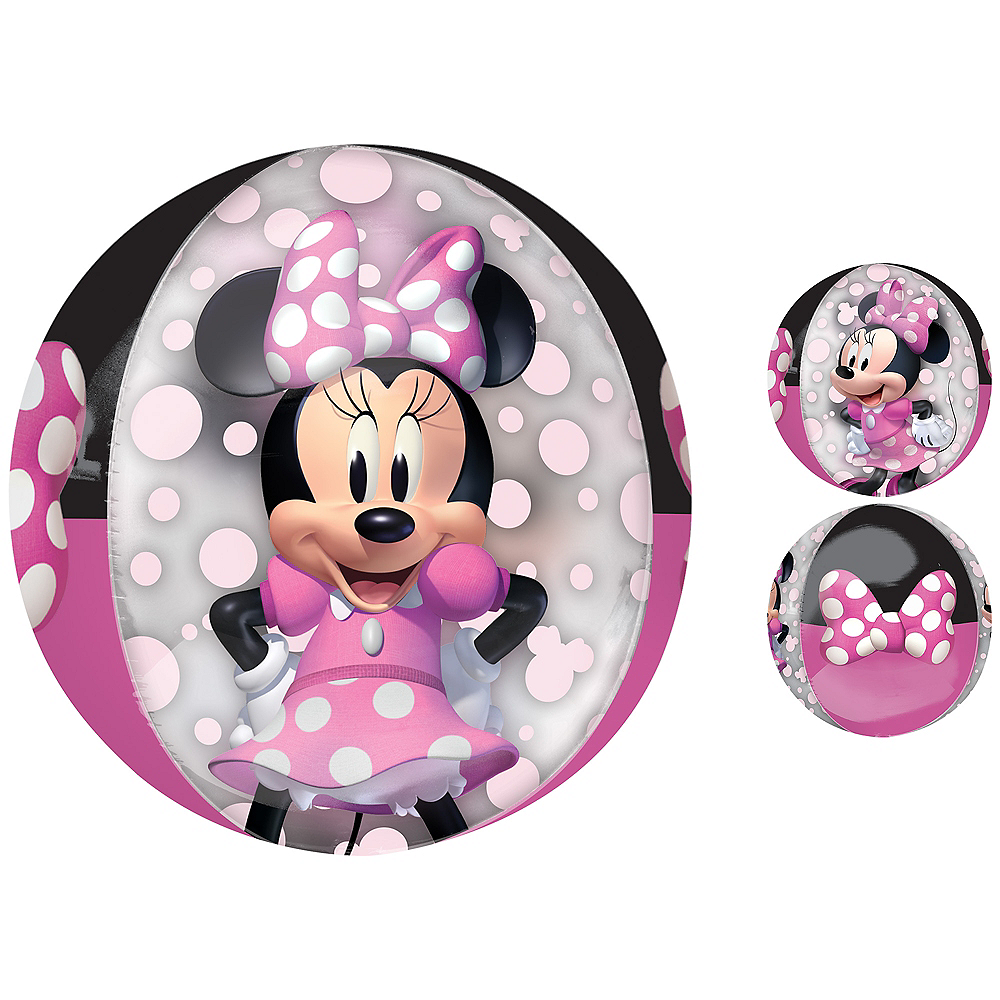 Minnie Mouse Forever Balloon - See Thru Orbz Image #1