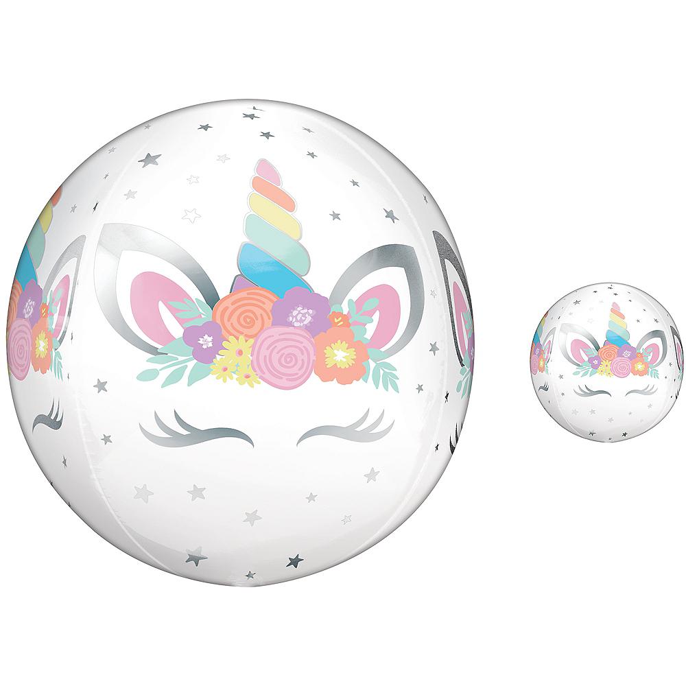 Unicorn Party Balloon - See Thru Orbz Image #1
