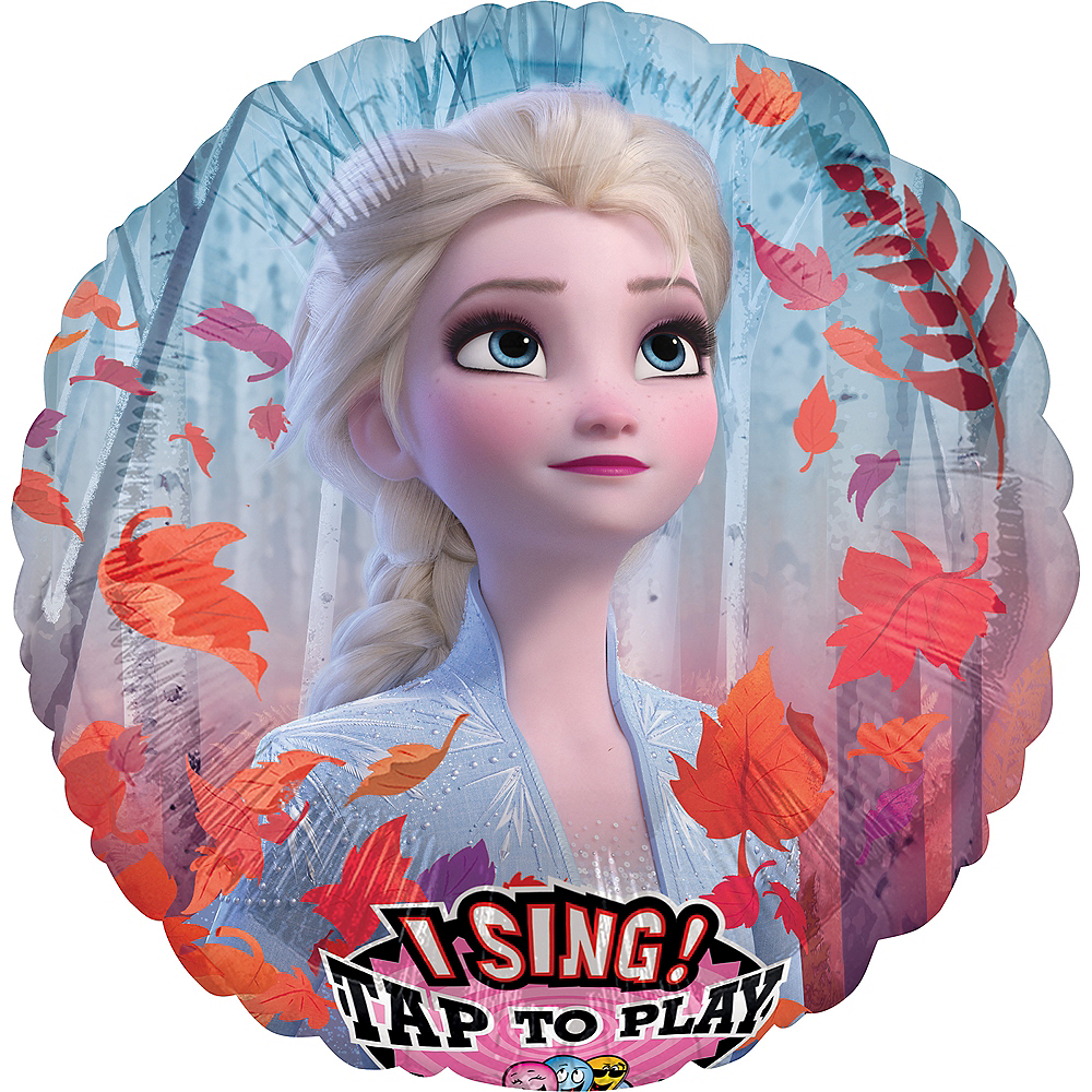 Frozen 2 Balloon - Singing Image #1