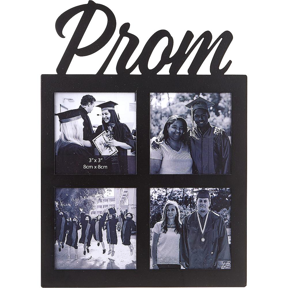 Black Prom Photo Collage Frame Image #1