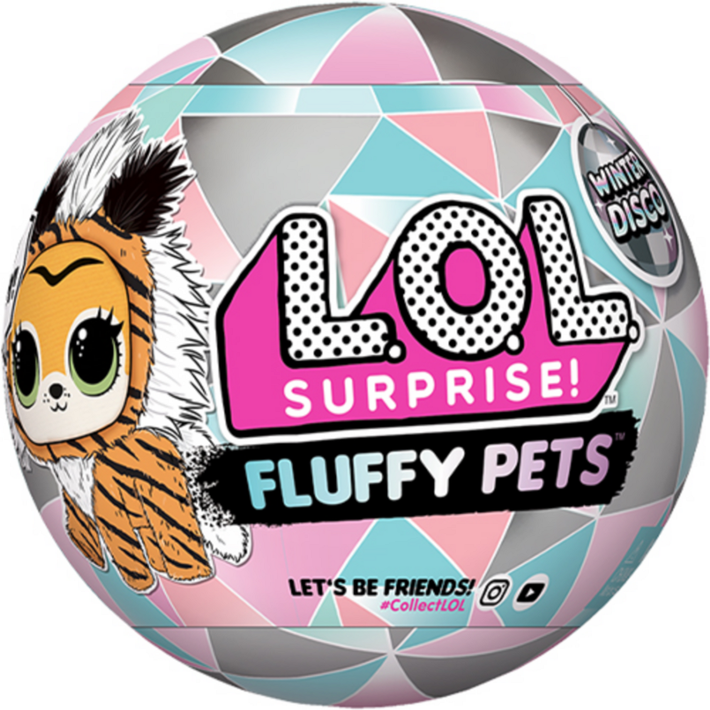 L.O.L. Surprise! Fluffy Pets Winter Disco Series Mystery Pack Image #1
