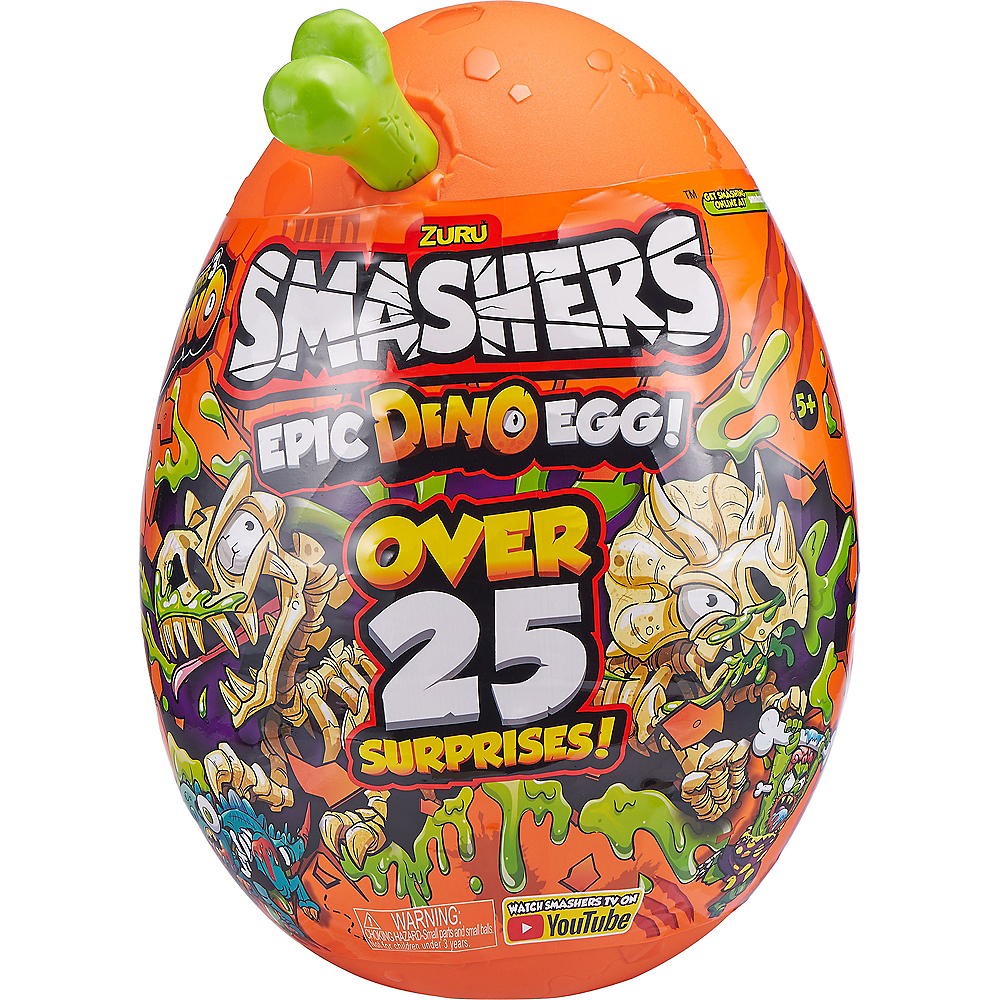 Smashers Epic Dino Egg Collectibles Series 3 Dino by ZURU Image #1