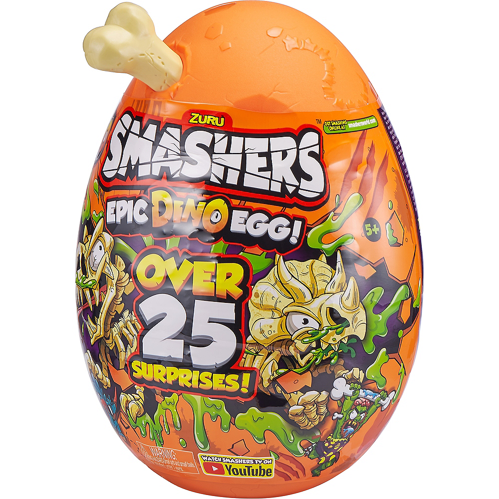 Smashers Epic Dino Egg Collectibles Series 3 Dino by ZURU Image #2